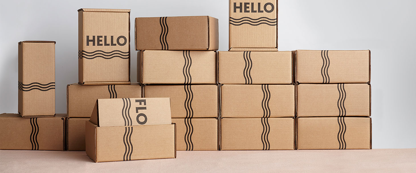 Helloflo delivery boxes